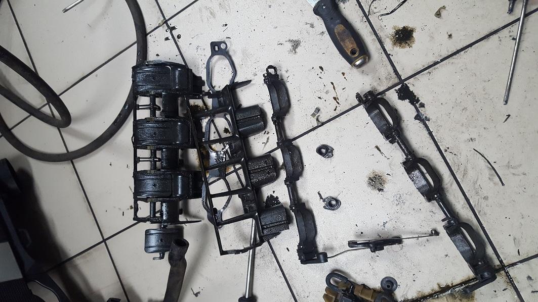 Впускной коллектор 272 мотор