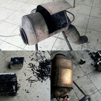 Удалить сажевый фильтр БМВ