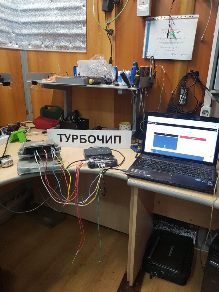 Чиптюнинг спринтер EDC17cp01
