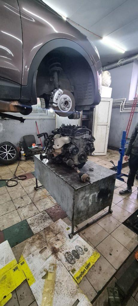 Ремонт двигателя Хёндай Санта Фе